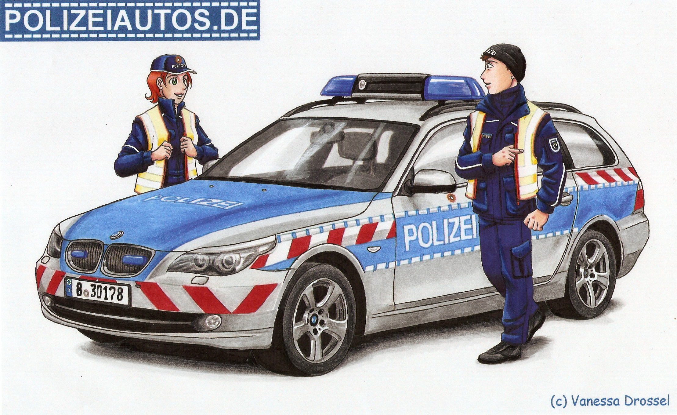 Polizeiautos De